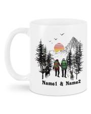 Lets Go Camping DD011105NA Customize Name Mug back
