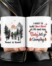 Lets Go Camping DD011105NA Customize Name Mug ceramic-mug-lifestyle-24