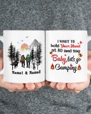 Lets Go Camping DD011105NA Customize Name Mug ceramic-mug-lifestyle-32