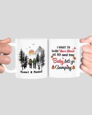 Lets Go Camping DD011105NA Customize Name Mug ceramic-mug-lifestyle-41