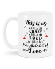 I Love You DD011541NA Customize Name Mug back