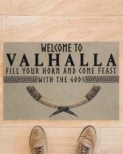 "Valhalla DD01041NA Doormat 34"" x 23"" aos-doormat-34-x-23-lifestyle-front-02"