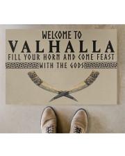 "Valhalla DD01041NA Doormat 34"" x 23"" aos-doormat-34-x-23-lifestyle-front-04"