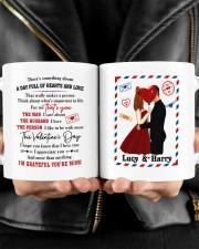 Hearts And Love DD010905DH Customize Name Mug ceramic-mug-lifestyle-24