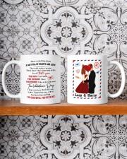 Hearts And Love DD010905DH Customize Name Mug ceramic-mug-lifestyle-47