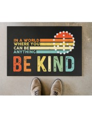 """Be Kind DD010813NA Doormat 22.5"""" x 15""""  aos-doormat-22-5x15-lifestyle-front-04"""