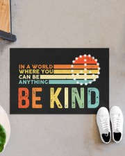 """Be Kind DD010813NA Doormat 22.5"""" x 15""""  aos-doormat-22-5x15-lifestyle-front-07"""