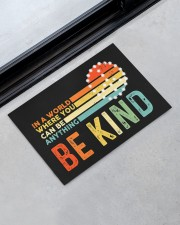 """Be Kind DD010813NA Doormat 22.5"""" x 15""""  aos-doormat-22-5x15-lifestyle-front-09"""