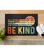 """Be Kind DD010813NA Doormat 22.5"""" x 15""""  aos-doormat-22-5x15-lifestyle-front-12"""