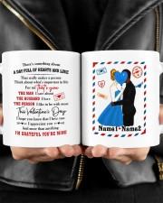 Hearts And Love DD010905DH01 Customize Name Mug ceramic-mug-lifestyle-24