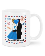 Hearts And Love DD010905DH01 Customize Name Mug front