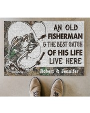 "Fisherman DD010414NA Doormat 34"" x 23"" aos-doormat-34-x-23-lifestyle-front-04"