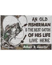"Fisherman DD010414NA Doormat 34"" x 23"" front"
