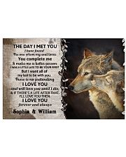 The Day I Met You DD123102MA Customize Name Horizontal Poster tile