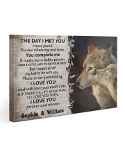The Day I Met You DD123102MA Customize Name Gallery Wrapped Canvas Prints tile