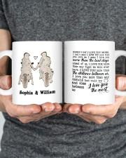 I Love You The Most DD010505MA Customize Name Mug ceramic-mug-lifestyle-34