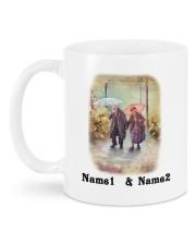 Love Story DD011401MA Customize Name Mug back
