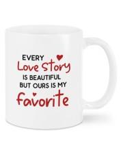 Love Story DD011401MA Customize Name Mug front