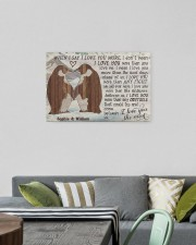 Penguin Customize Name 24x16 Gallery Wrapped Canvas Prints aos-canvas-pgw-24x16-lifestyle-front-16