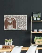 Penguin Customize Name 24x16 Gallery Wrapped Canvas Prints aos-canvas-pgw-24x16-lifestyle-front-19
