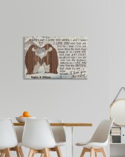 Penguin Customize Name 24x16 Gallery Wrapped Canvas Prints aos-canvas-pgw-24x16-lifestyle-front-20