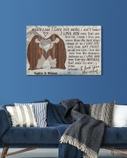 Penguin Customize Name 24x16 Gallery Wrapped Canvas Prints aos-canvas-pgw-24x16-lifestyle-front-21