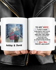 Forever And Always DD011219MA Customize Name Mug ceramic-mug-lifestyle-24