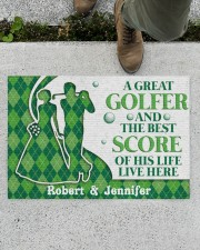 """A Great Golfer DD010824NA Customize Name Doormat 34"""" x 23"""" aos-doormat-34-x-23-lifestyle-front-01"""