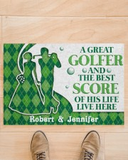 """A Great Golfer DD010824NA Customize Name Doormat 34"""" x 23"""" aos-doormat-34-x-23-lifestyle-front-02"""