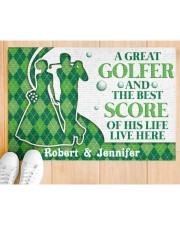"""A Great Golfer DD010824NA Customize Name Doormat 34"""" x 23"""" aos-doormat-34-x-23-lifestyle-front-03"""