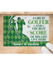 """A Great Golfer DD010824NA Customize Name Doormat 34"""" x 23"""" aos-doormat-34-x-23-lifestyle-front-05"""