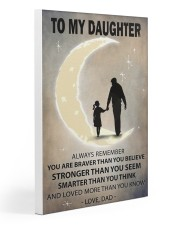 To my daughter Gallery Wrapped Canvas Prints tile
