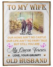 To My Wife DD011616MA Blanket Customize Name Fleece Blanket tile