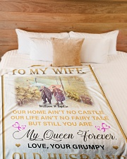 """To My Wife DD011616MA Blanket Customize Name Large Fleece Blanket - 60"""" x 80"""" aos-coral-fleece-blanket-60x80-lifestyle-front-02"""