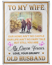 """To My Wife DD011616MA Blanket Customize Name Large Fleece Blanket - 60"""" x 80"""" front"""