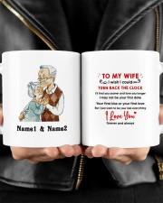 Turn Back The Clock DD011315MA Customize Name Mug ceramic-mug-lifestyle-24