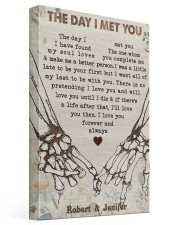 The Day I Met You DD123007DH Customize Name 16x24 Gallery Wrapped Canvas Prints front