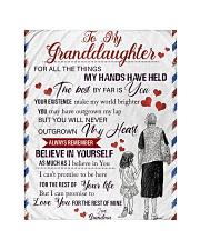 Grandma Granddaughter My Hands Blanket Quilt tile