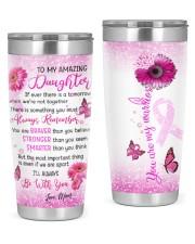 To my amazing daughter tumbler 20oz Tumbler front