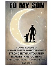 To my son 3 11x17 Poster front