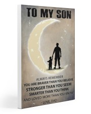 To my son 3 Gallery Wrapped Canvas Prints tile