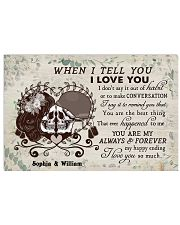 When I Tell You DD011905MA Customize Name Horizontal Poster tile
