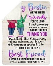 Girls Best Friend Blanket Personalize Sherpa Fleece Blanket tile