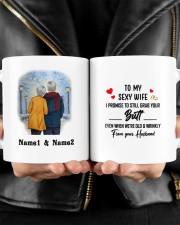 From Your Husband DD011324MA Customize Name Mug ceramic-mug-lifestyle-24