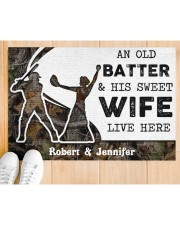 """An Old Batter DD010815NA Customize Name Doormat 34"""" x 23"""" aos-doormat-34-x-23-lifestyle-front-03"""