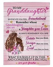 Grandmother Granddaughter Stronger Pink Blanket Comforter tile