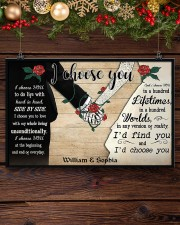 I Chose You 2 Customize Name 17x11 Poster aos-poster-landscape-17x11-lifestyle-27