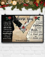 I Chose You 2 Customize Name 17x11 Poster aos-poster-landscape-17x11-lifestyle-28