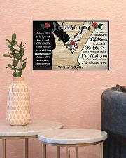 I Chose You 2 Customize Name 17x11 Poster poster-landscape-17x11-lifestyle-21