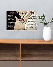 I Chose You 2 Customize Name 17x11 Poster poster-landscape-17x11-lifestyle-24